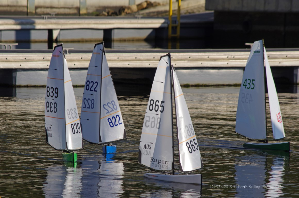 The Dragonflite 95's of SoPyC - Rick Steuart - Sailing